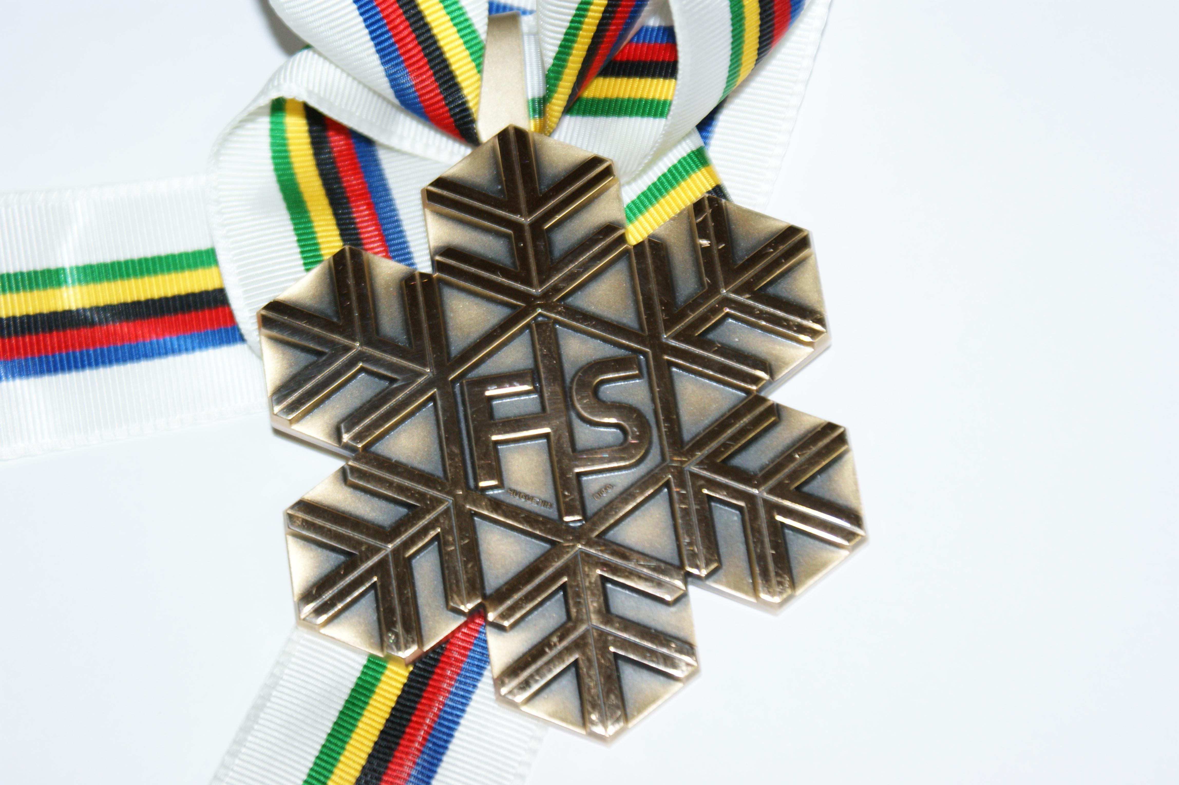 WM Bronzemedaille von Patrizia Kummer (Gangwon, Südkorea, 2009)