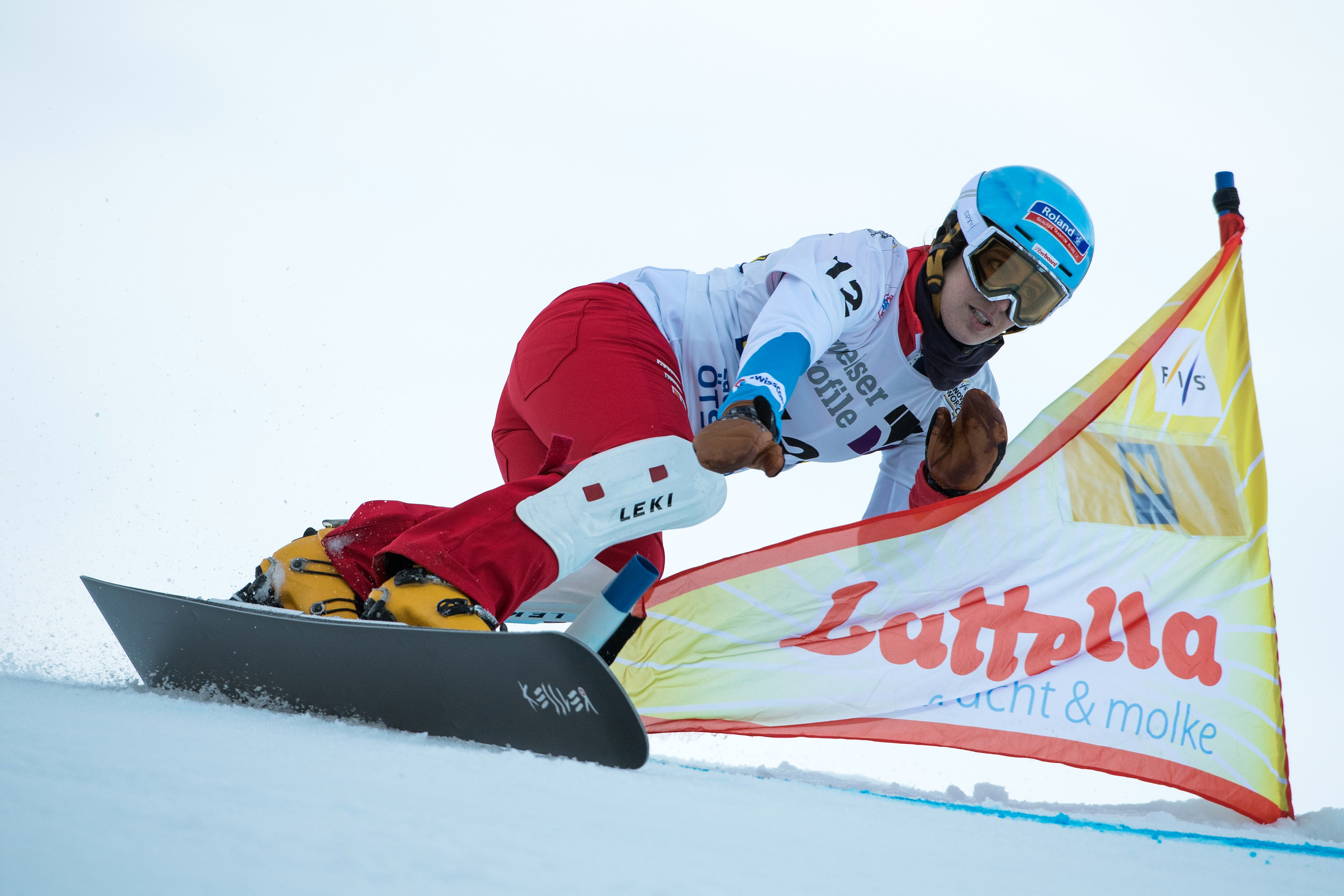 FIS Snowboard World Cup - Lackenhof AUT - PGS - KUMMER Patrizia SUI © Miha Matavz/FIS